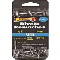 RIVET LONG STEEL 1/8INX1/2IN