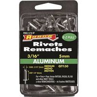 RIVET MEDIUM ALUM 3/16X1/4IN