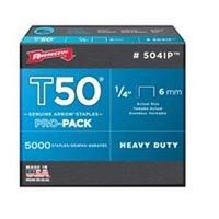 STAPLE T50 5000PK 1/4IN