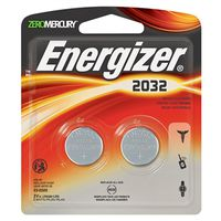 BATTERY 2032BP LI-COIN 2/PK
