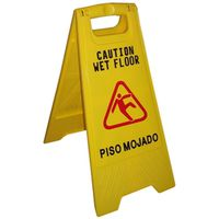 Chickasaw /Little Rock Broom Works 628 Wet Floor Signs