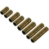 ROD THREADED ASSTM SILVER 8/PK