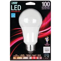BULB LIGHT LED 100W A19 3000K
