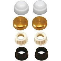 CAP FINIAL 1/8IN ASSORTED 8/PK