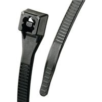 CABLE TIE 8 IN BLACK 100/BAG