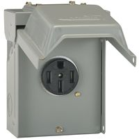 POWER OUTLET 50A 14-50R CON PK