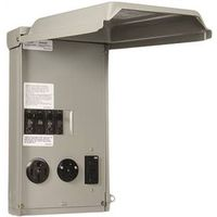 POWER PANEL RV 100A 50/30/20A
