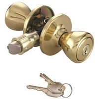 MOBILEHOME LOCKSET ENTRY PB