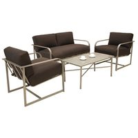 PATIO CONVERSATION SOLARIS 4PC