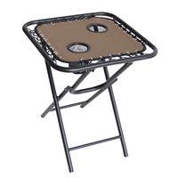 TABLE FOLDING BUNGEE 18IN TAN