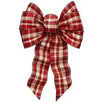 BOW PLAID TRADITIONAL ASST 7LP