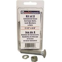 KIT BOLT/NUT/WASHR 3/8X2-1/2IN