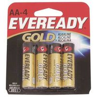 BATTERY ALKALINE GOLD 4PK AA