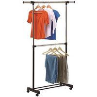 RACK GARMENT DUALROD EXPAND