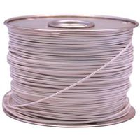 WIRE PRIMARY WHITE 100FT 18GA