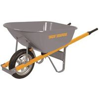 WHEELBARROW 6CUFT FLAT FREE