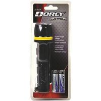 FLASHLIGHT LED RUBBER 2AA