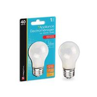 BULB APPL 40W A15 MED BS FROST