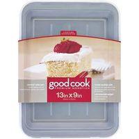PAN CAKE NONSTICK W/CVR 13X9IN