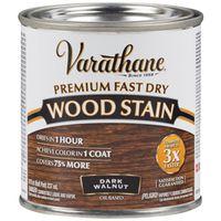 STAIN WOOD INT DK WALNUT 1/2PT