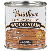 STAIN WOOD INT MAHOGANY 1/2PT