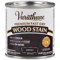 STAIN WOOD INT EBONY 1/2PT