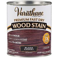 STAIN WOOD INT BLK CHERRY QT
