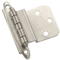 HINGE INSET 3/8IN SATIN NICKEL
