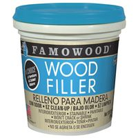 WOOD FILLER LATEX RED OAK PINT