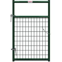 GATE 2X4IN WIRE FILLED 3FT GRN