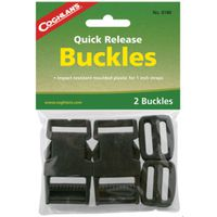 BUCKLE QCK RLS PLSTC 1IN GRN