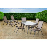 RIVIERA SET DINING & CHAT 10PC