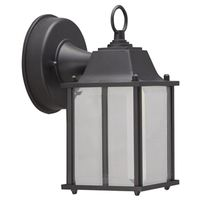 LANTERN WALL LD OUTDOOR BLK