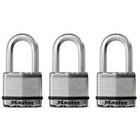 PADLOCK 2IN W/2IN SHACKLE 3PK