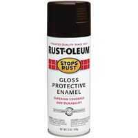 PAINT SPRAY RUST WALNUT