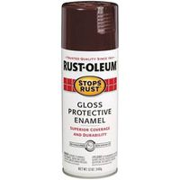 PAINT SPRAY RUSTSTOP BROWN