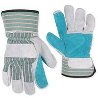 GLOVE DBL LEATHER PALM SAFECUF