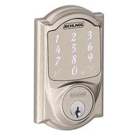 DEADBOLT SMART SENSE SAT NICKL