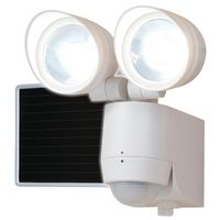MOTION LIGHT LED 320 SOLAR WT