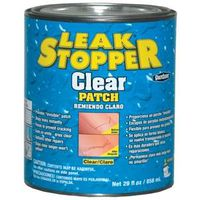 ROOF PATCH CLEAR LEAKSTOP 1QT