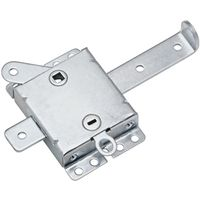 LOCKS WIDE ZINC PLATED 7-1/2IN
