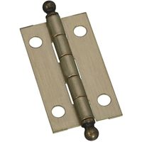 HINGE ANT BRASS 1-1/2X7/8IN