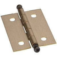 HINGE ANT BRASS 1-1/2X1-1/4IN