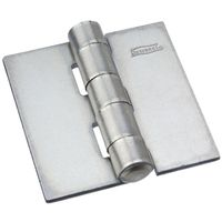 HINGE SURFACE PLAIN STEEL 2IN