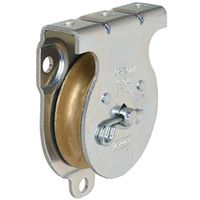 PULLEY ZINC PLATED 2IN