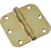 HINGE DOOR BRASS TNE 3IN