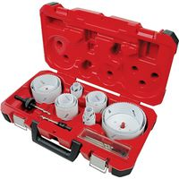 Ice Hardened 49-22-4105 Bi-Metal Electrician Hole Saw Kit