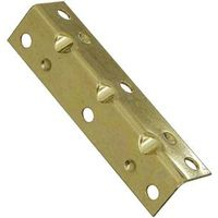 BRACE CORNER BRASS 3-1/2X3/4IN