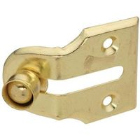 VENT STOP WINDOW BRASS