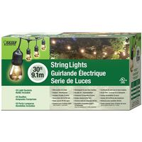 STRING LIGHT 30FT INCANDESCENT